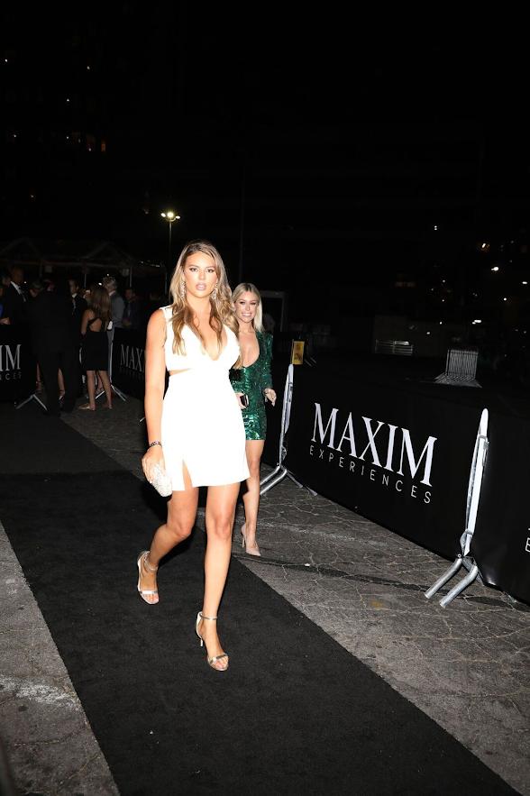 Models Arrive 2018 Maxim Hot 100 Party