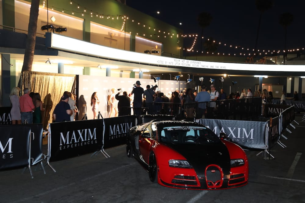 Outside of the Hollywood Palladium at the 2018 Maxim Hot 100 Experience
