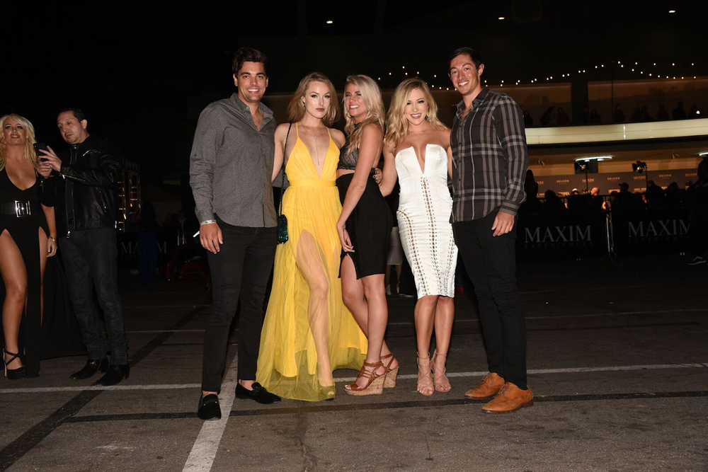 Hollywood couples attend the Maxim Hot 100 Experience