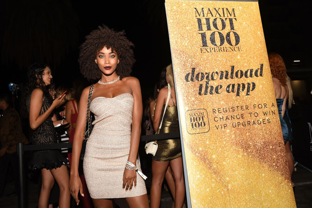 Download the Maxim Hot 100 App