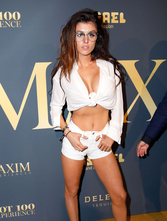 Fashionable looks at the Maxim Party in Los Angeles