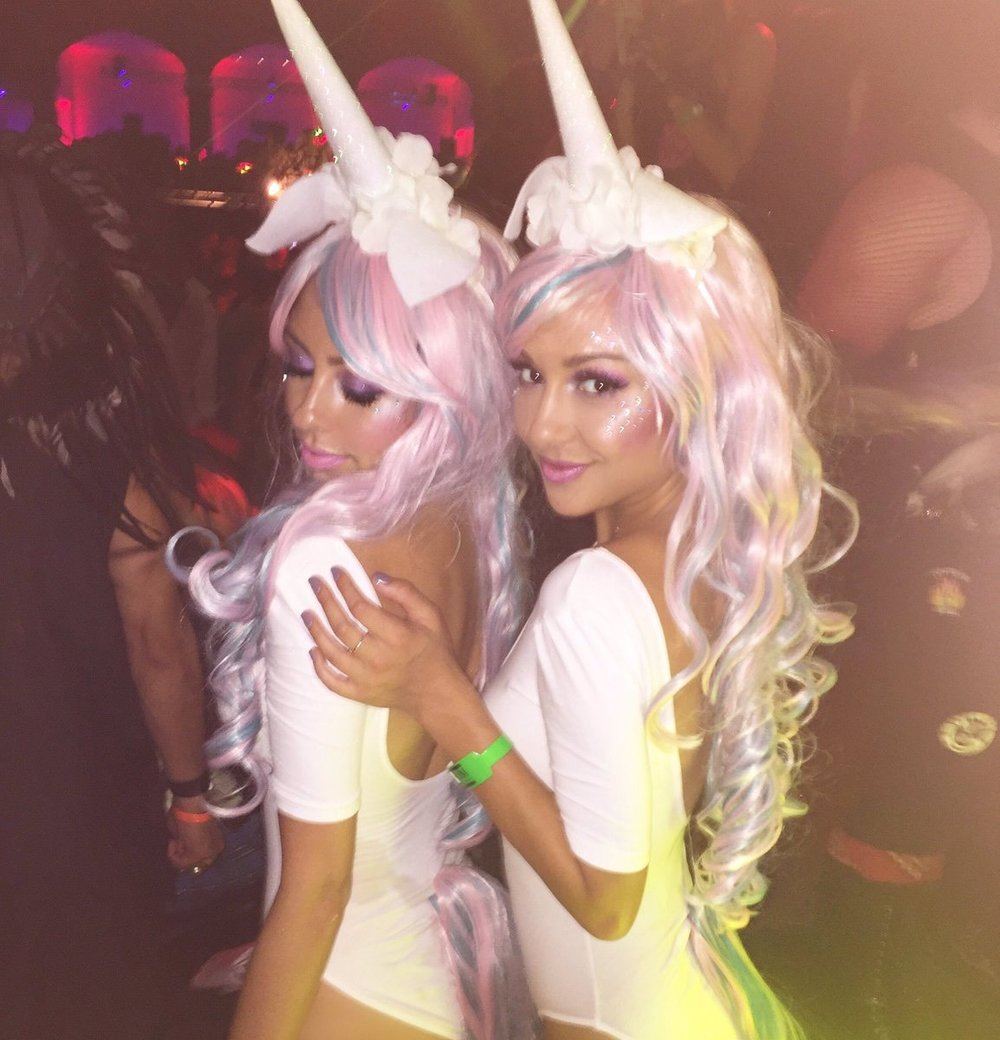 Magical Unicorns at the Maxim Halloween Party