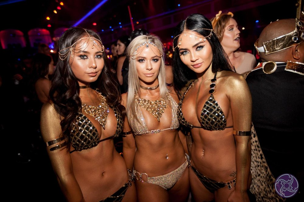 Guests at the 2015 Maxim Halloween Party