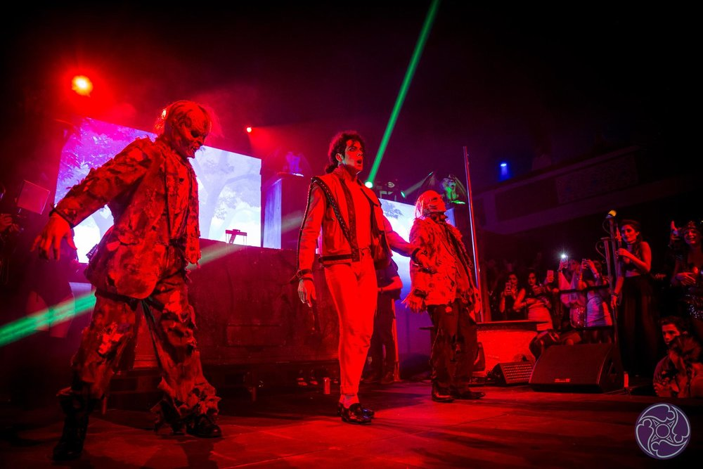 Special Halloween performances at the 2016 Maxim Halloween Party. Michael Jackson Thriller blew away guests!