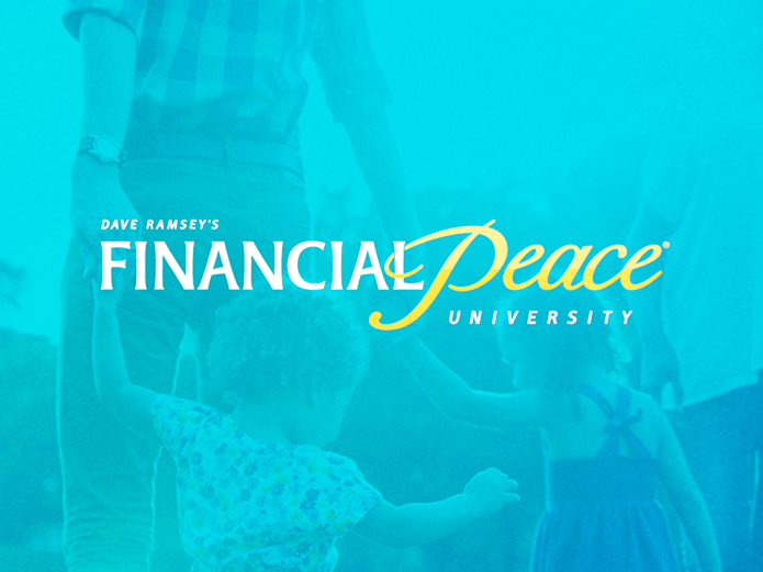 Financial Peace - JUNE 30th 2019 – AUG 25th 2019SUNDAYS 3:00-5:00PMOur Dave Ramsey Financial Peace course is designed to help class members to take control of their money, become better stewards of God's resources, and learn the value and practices of budget planning, saving, giving, investing, and more.MORE INFORMATIONCLICK HERE TO REGISTER FOR OUR 2019 GROUP