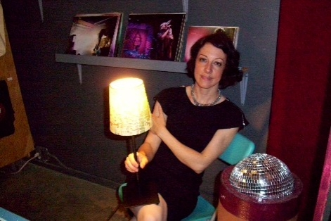 Rani holding a lamp