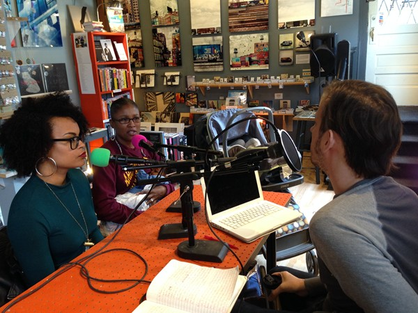 Angelica Jade Bastién (left) and Janina Cartier Bradley on   The White City Cinema Radio Hour