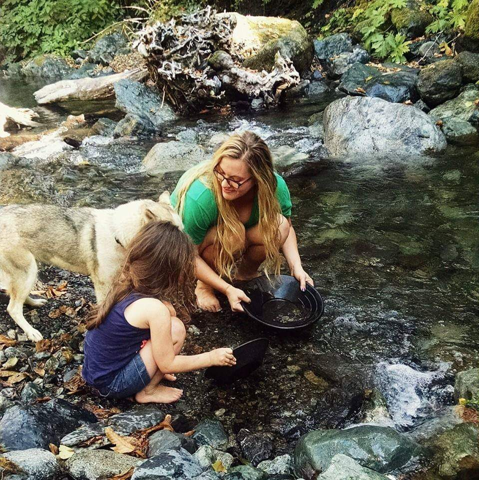 Family to me is what you make it - I've been a single mom for over 6 years now and have made my own little family with may daughter, our husky, and 2 cats. The pack of us moved up to Alaska together in 2017.