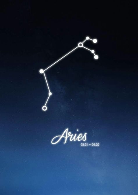 the Aries Constellation Zodiac Sign March April Astrology