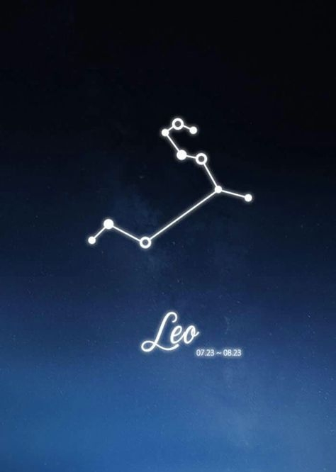 Leo Constellation Zodiac Sign July August Astrology