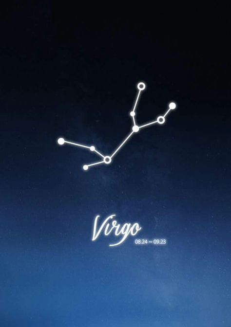 Virgo Constellation Zodiac Sign August September Astrology