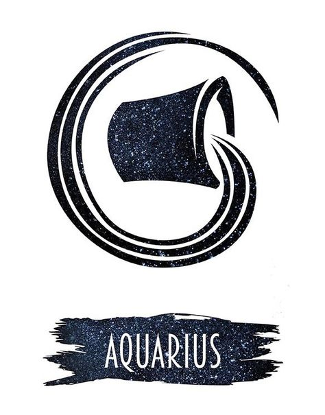 AIR - The element of Aquarius is Air and those born under this element connects with all aspects of the mind.