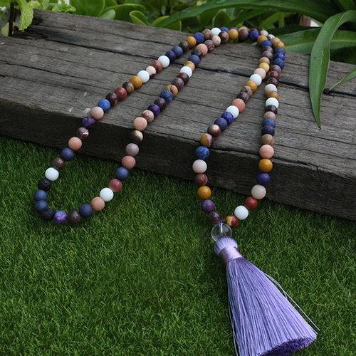 8mm-Mookaite+Jasper-Egg-Yolk+Bead-Sunstone-Sodalite-peaceful-island-com-Meditation-JaPaMala-Nacklace-108-Bead-Mala-Mala-Jewelry-Yoga_2.jpg