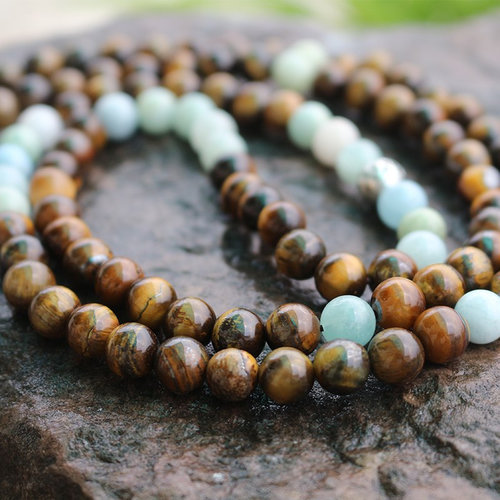 Decisiveness 108 Bead Authentic Chakra Jewelry For Self Confidence