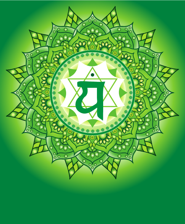 The 4th Chakra - Everything Comes Together Here - The Heart Chakra connects the Upper Chakras & the Lower Chakras