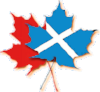 Scottish and Canadian Flags