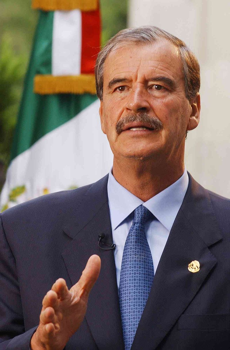 Vicente Fox, Wiki Commons