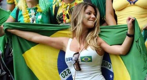 Unrelated Brazilian Soccer fan.