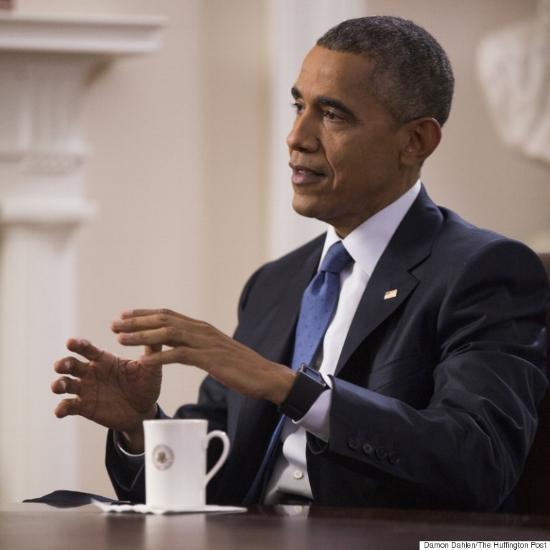 President Obama: Damon Dahlen,  Huffington Post .