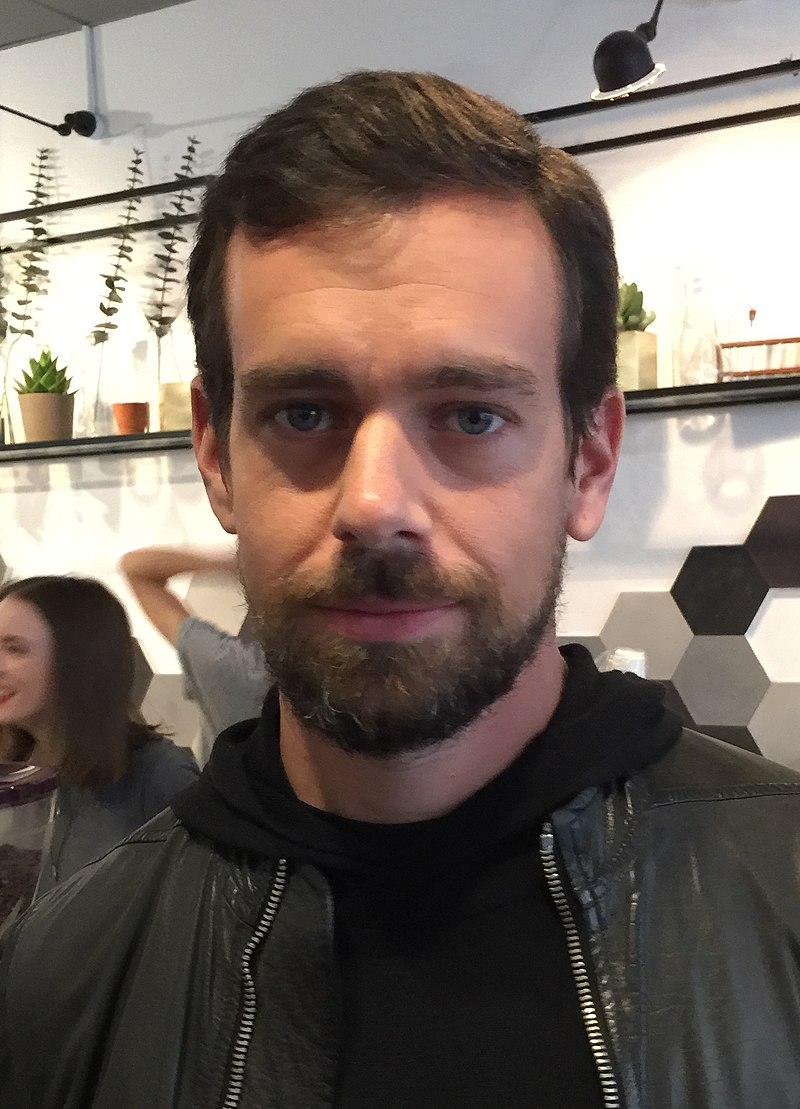 Twitter CEO Jack Dorsey. Source: Wiki Commons.