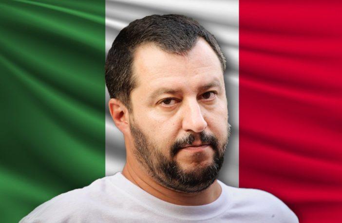 Salvini, Italian Interior Minister.