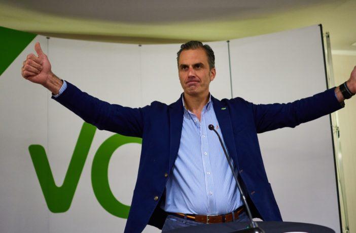 Javier Ortega, Secretary General of Vox - Image: MiguelOses / shutterstock.com