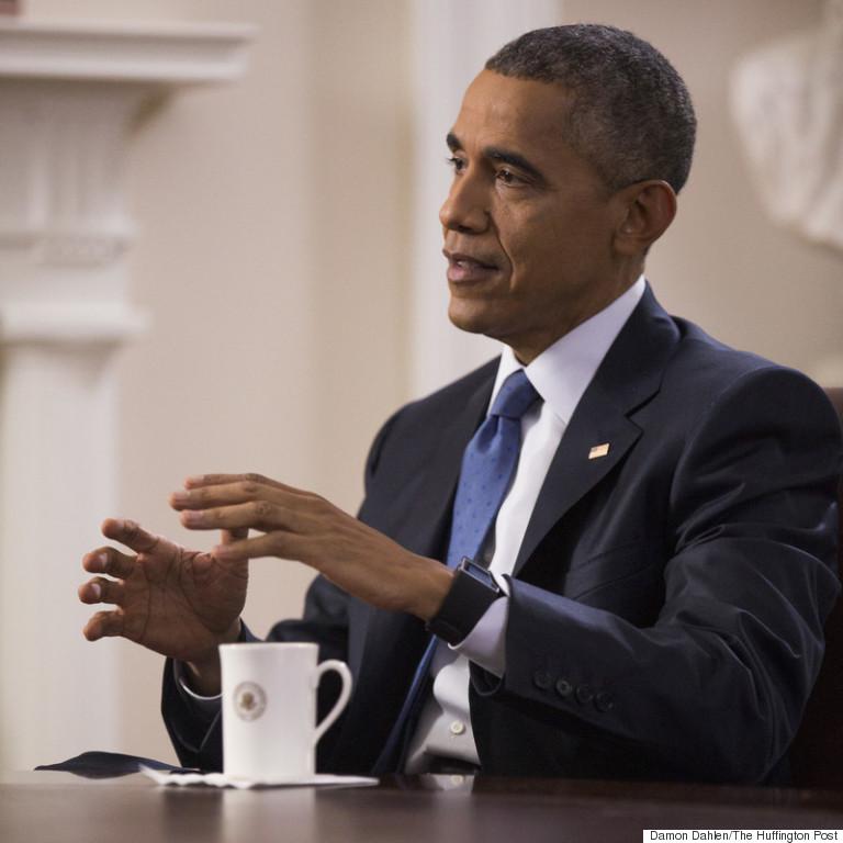 Obama: Damon Dahlen - HuffPO