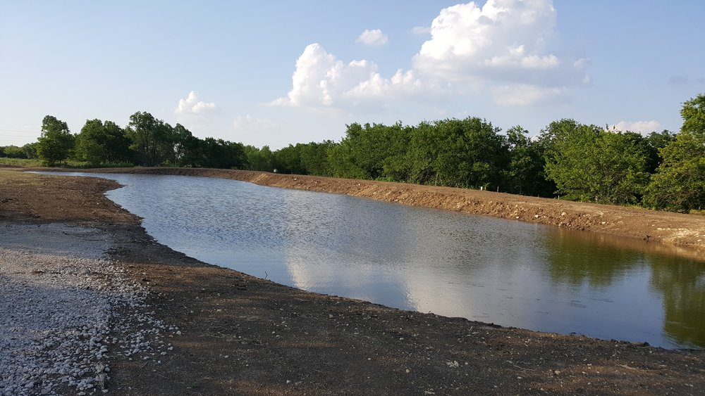North Texas Premier Pond Builders! - This is our favorite work & we are experts at designing and building them.