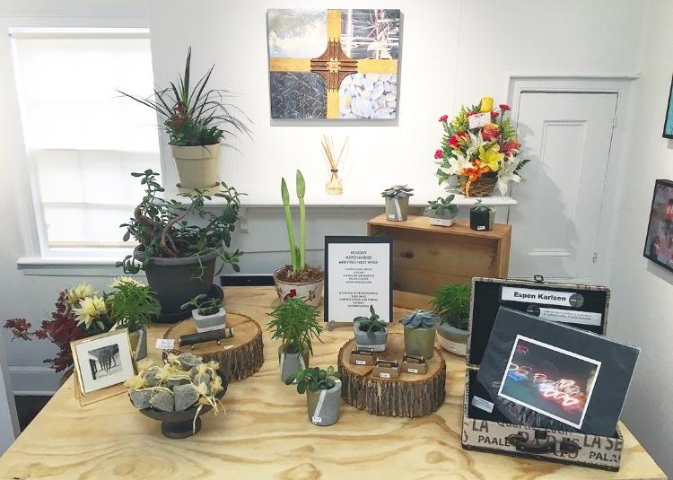Plants, pots, photographs for sale
