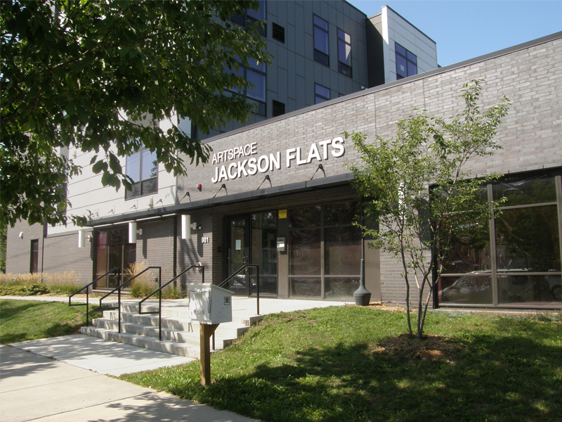 Frontage view of Jackson Flats