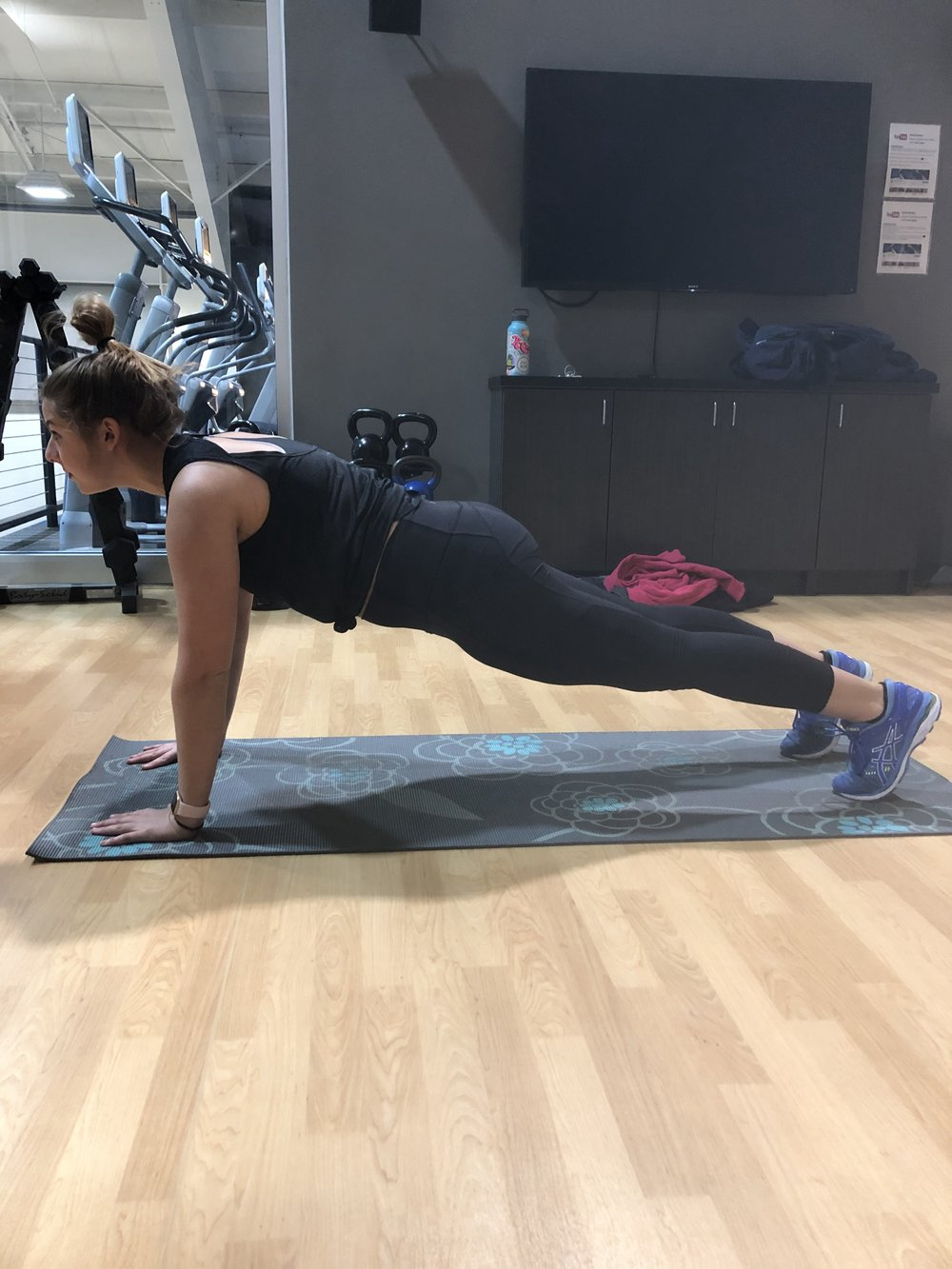 PUSH-UPS: Starting position
