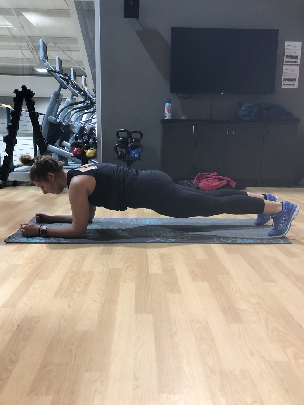 UP-DOWN PLANKS: Starting position