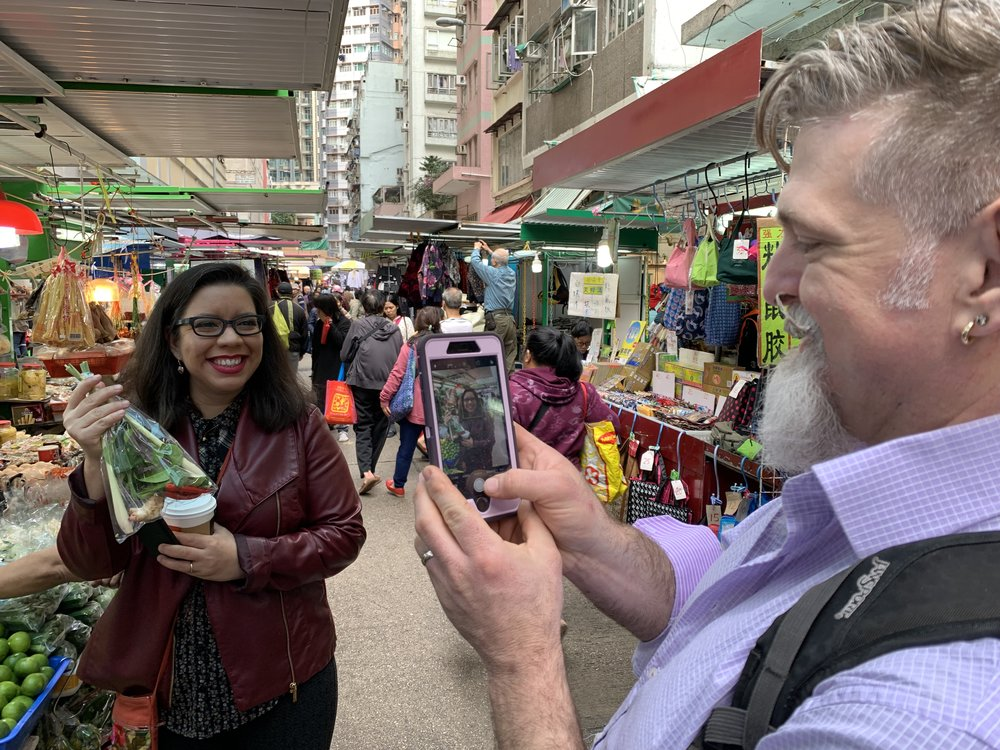 Tucson chefs exploring the markets of Macau, China