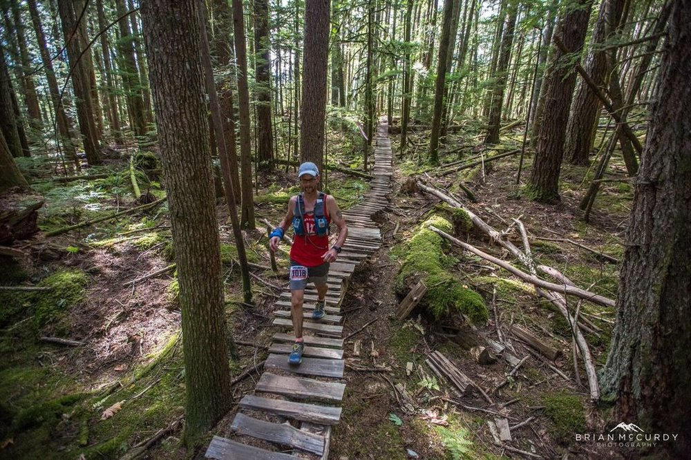 Squamish 50 miler - Squamish, B.C. 2015