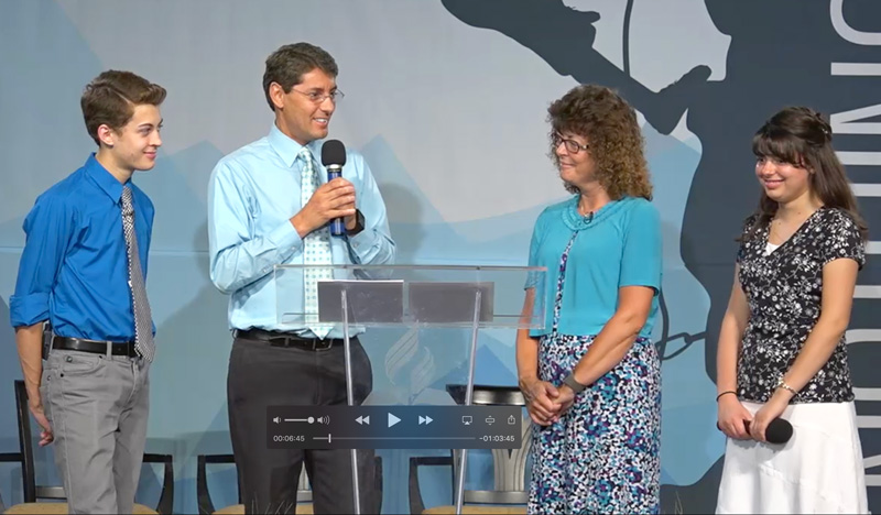 The Rayne family speaking in 2015. Videos are on the Video tab.
