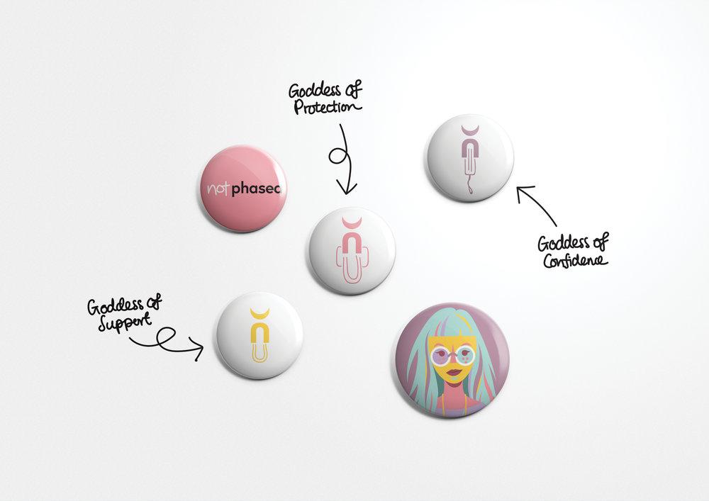 Luna badges