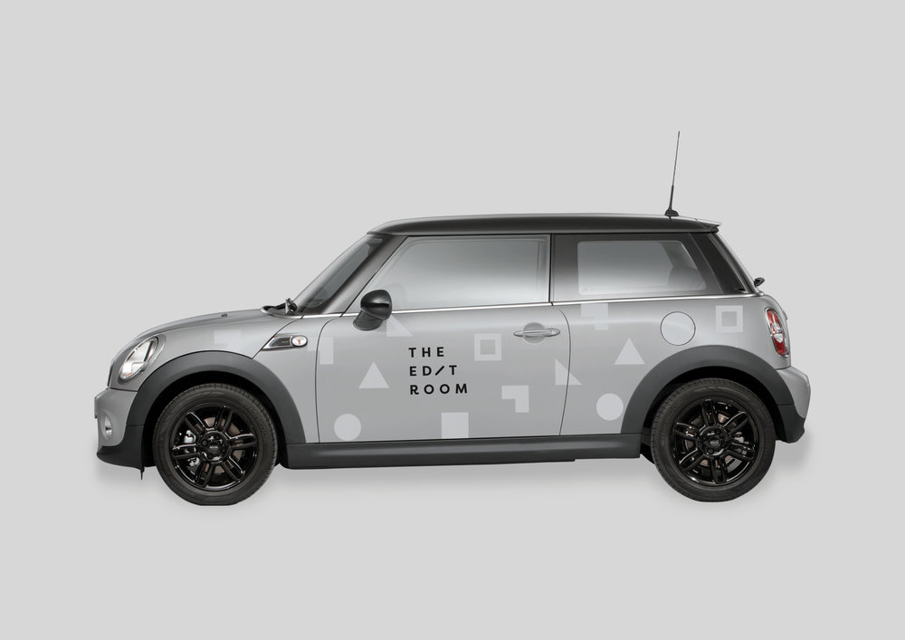 The Edit Room vehicle graphics