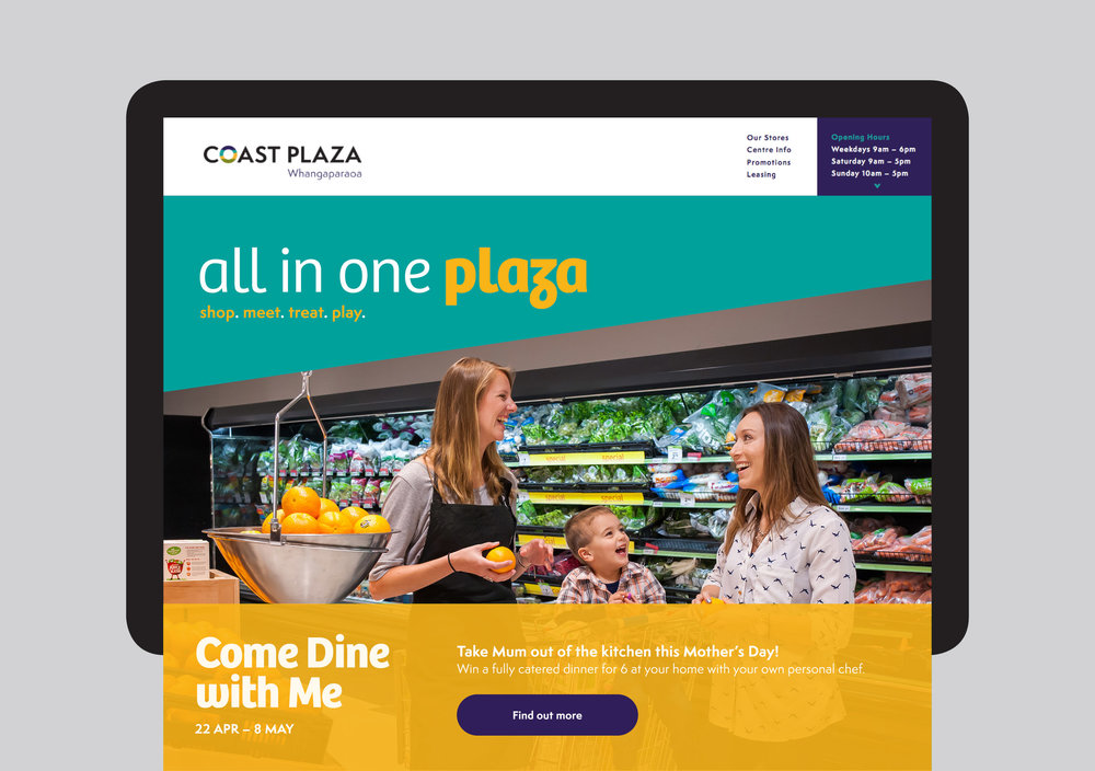 Coast Plaza website