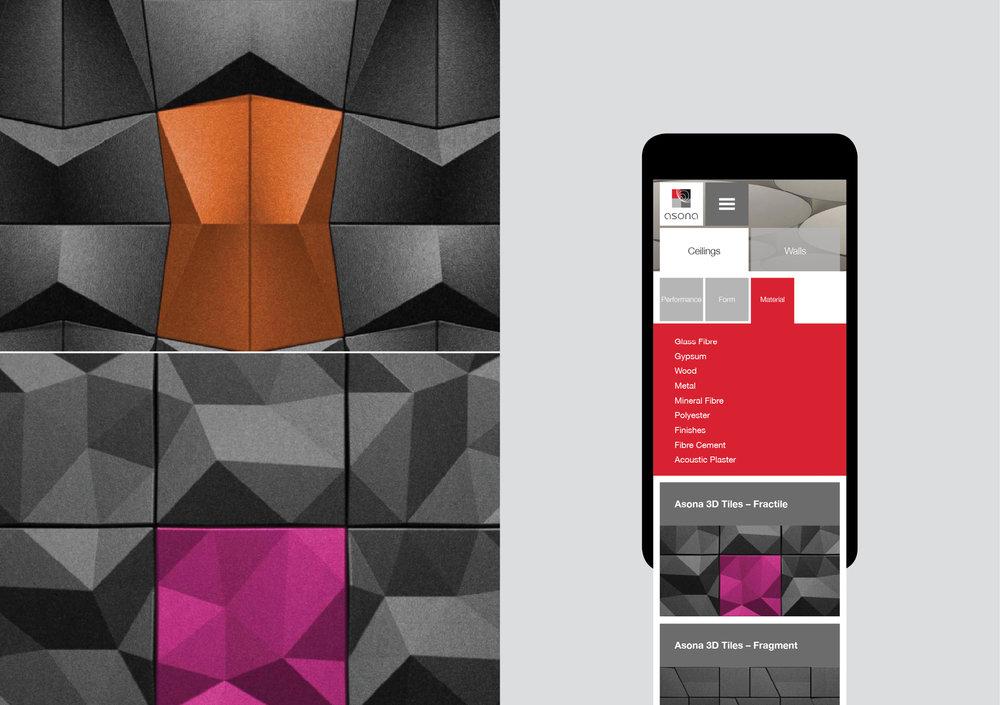 Asona mobile website