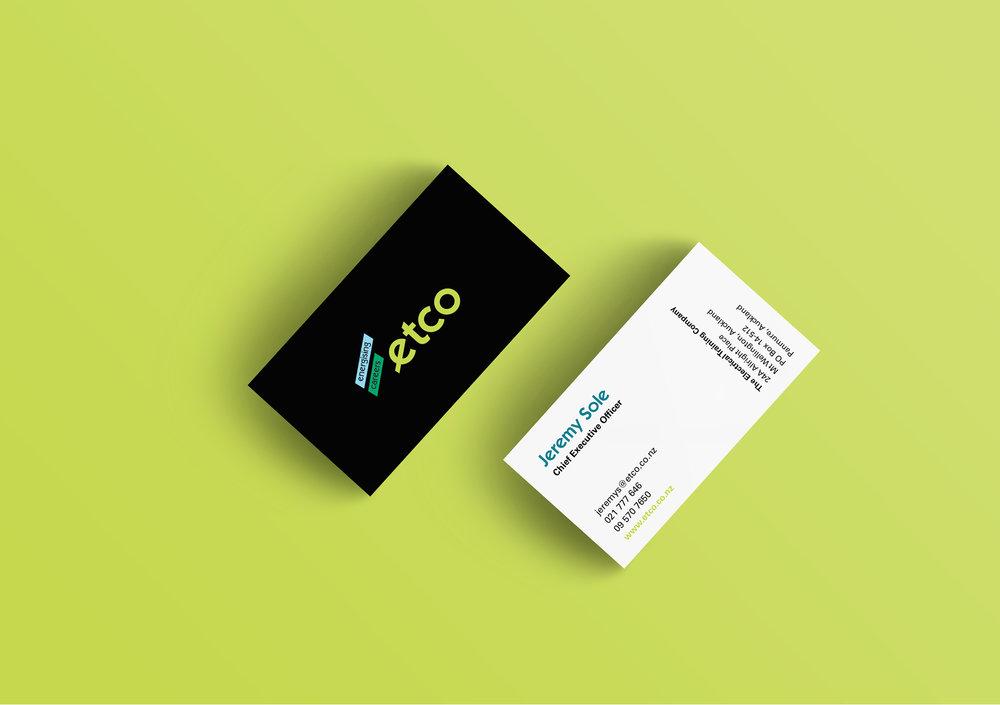 etco business card