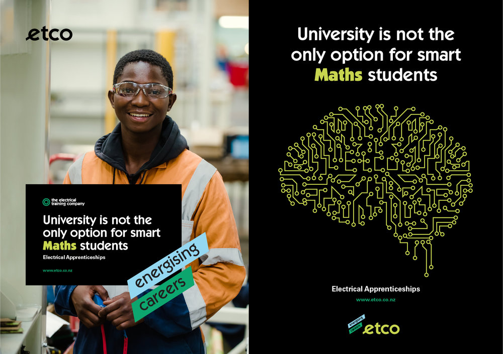 University is not the only option for smart Maths students