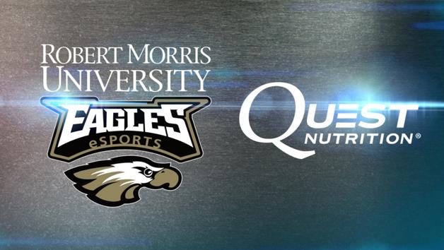 Robert Morris University Eagles eSports and Quest Nutrition