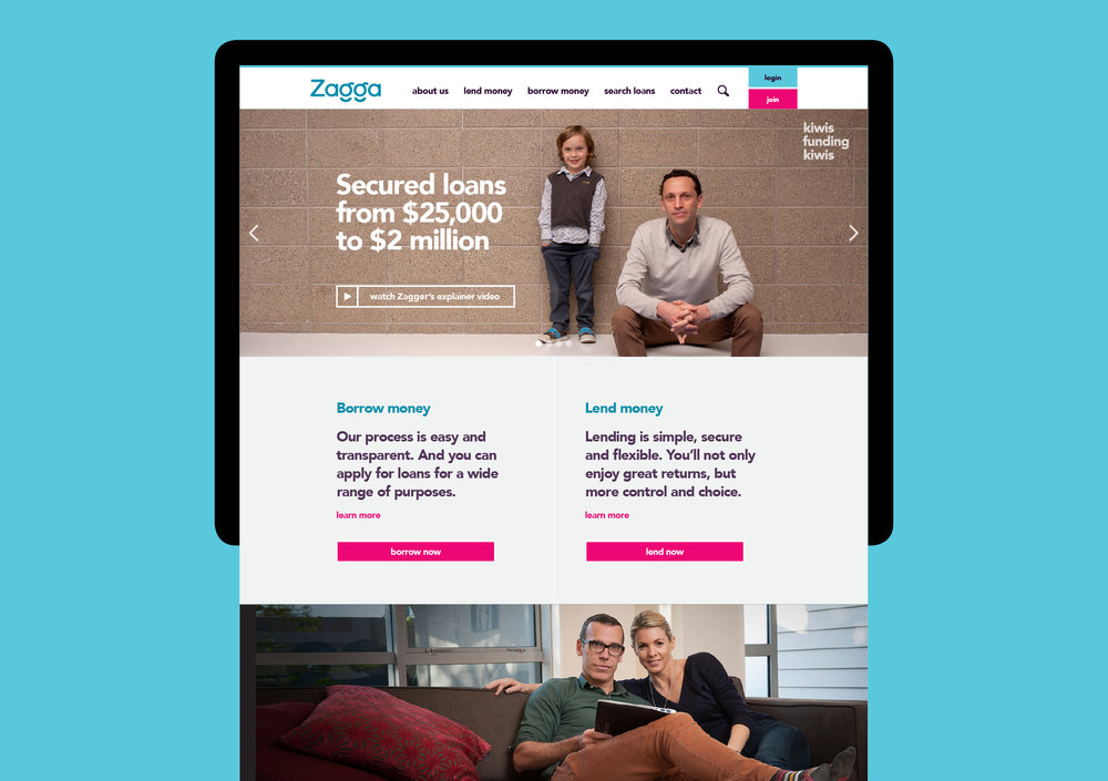 Zagga website
