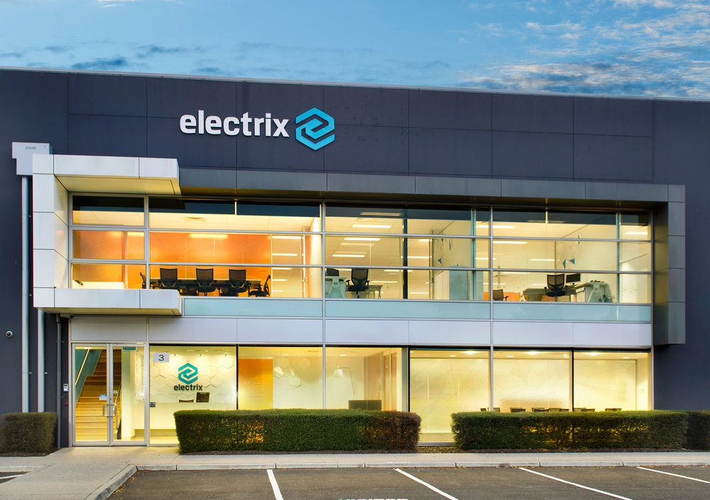 Electrix office signage