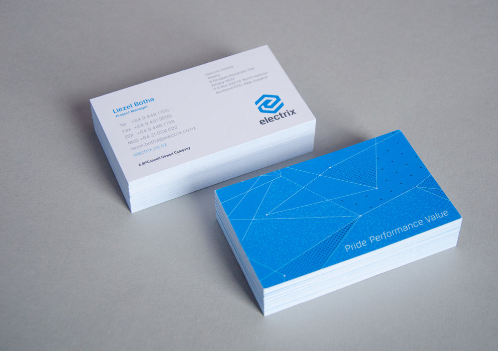 Electrix business card