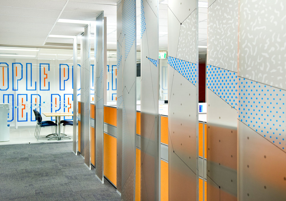 Electrix office branding