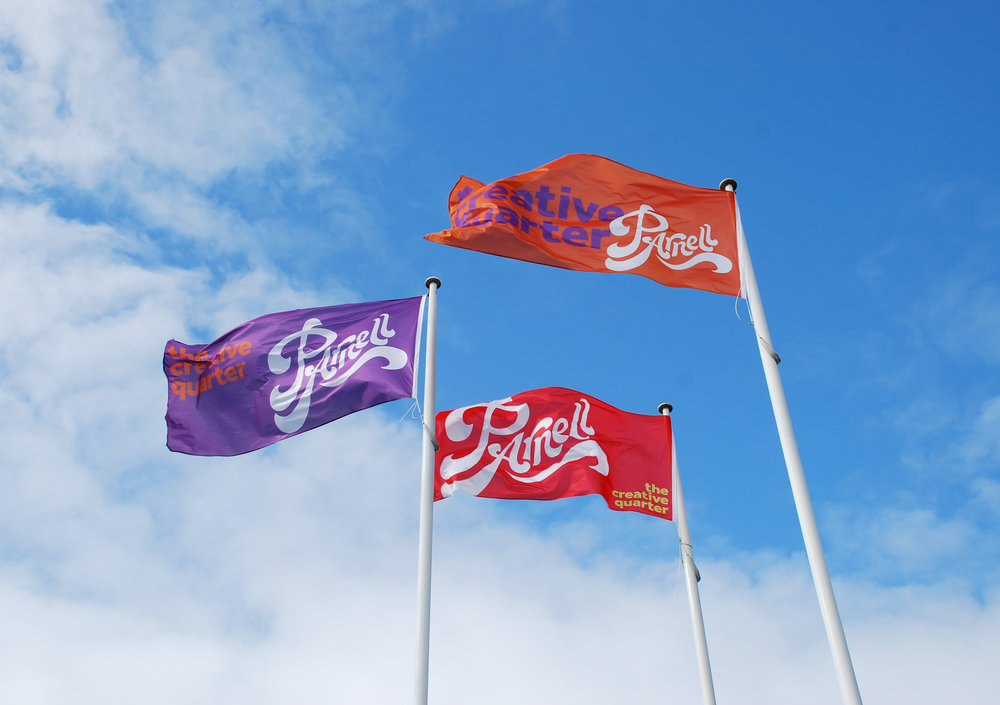 Parnell flags