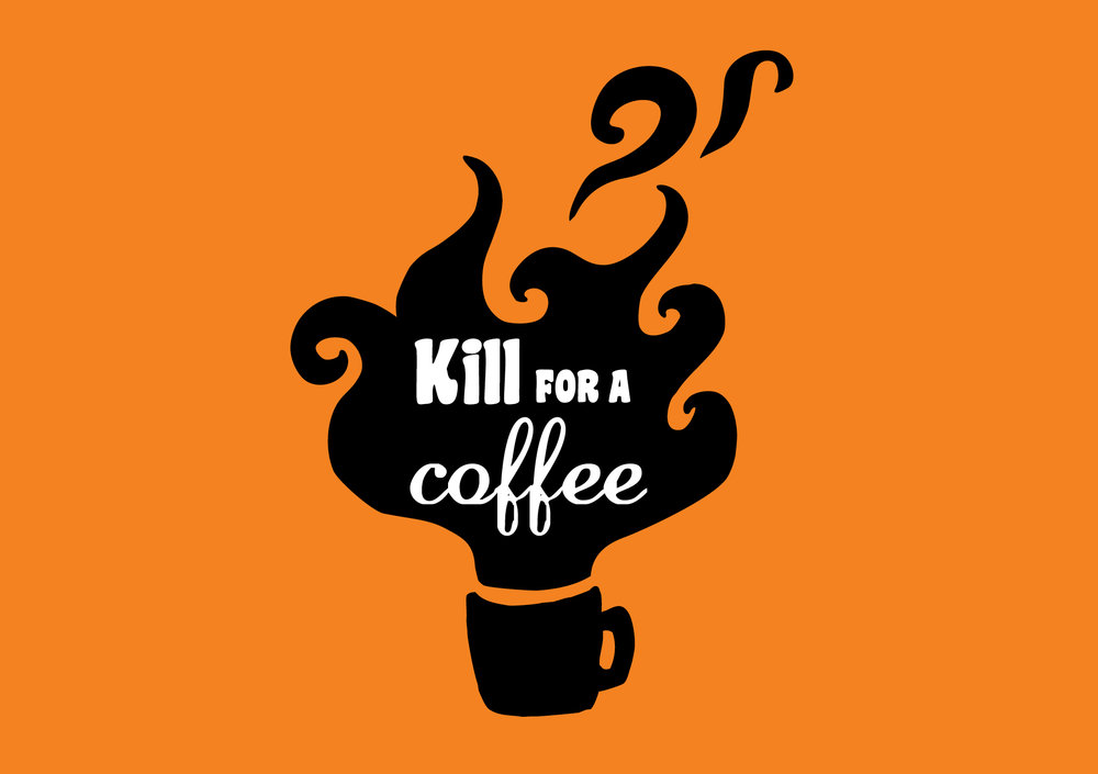 Parnell - kill for a coffee illustration