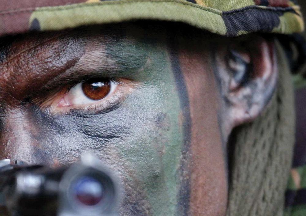 NZ Army camo paint