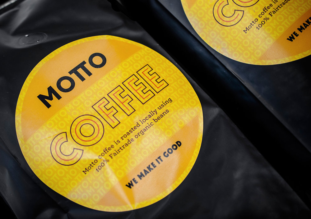 Motto coffee packaging